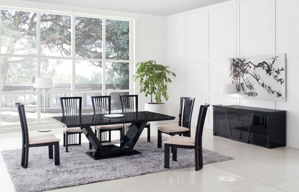 Astounding dining table desing gallery best idea home for Dining table interior design ideas